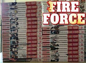 FIRE FORCE 1/24 + VARIANT - PLANET MANGA - OTTIME CONDIZIONI