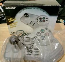 boxed QuickShot DEVASTATOR deluxe Joystick SONY PlayStation 1 & PS2