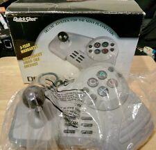 boxed QuickShot DEVASTATOR deluxe Joystick SONY PlayStation 1 & PS2