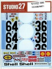 STUDIO27 1/12 Ferrari 312 B2 PART1 for TAMIYA DC607R Decal
