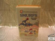 Smurfs Village Tales VHS Large Case Animated