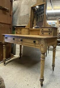 Victorian Dressing Table Original Painted Finish
