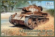 Stridsvagn M/40L (Landsverk Strv. L-60 S/III) 1/72 tanque sueco Ibg Nuevo