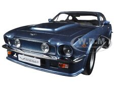 1985 ASTON MARTIN V8 VANTAGE CHICHESTER BLUE 1/18 DIECAST CAR BY AUTOART 70223