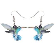 Acrylic Hummingbird Earrings Drop Dangle Jewelry For Women Girls Fashion Gifts