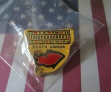 Travel Pietersburg South Africa Red Gold Collectible Metal Lapel Hat Pin