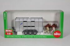 Siku SK2890 Lfor-Williams Stock Trailer, 1:32 Scale.