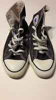 VINTAGE CONVERSE ALL STAR CHUCK TAYLOR BLACK HIGH TOP SIZE 9M MADE IN USA W/BOX!