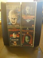 Hellraiser 1 2 3 Hellbound Hell on Earth Bloodline Clive Barker VHS Tapes Horror