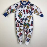 $6 OFF size 3-6-9-12-18 Months Disney Mickey Mouse Club Baby Pajamas NWT 35/%