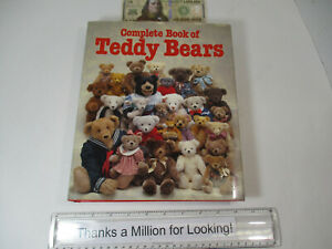 Complete Book of Teddy Bears, Huge Volume, Greene / Menton, Steiff & More, HCDJ