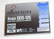 Imation 4mm DDS-125 DDS3 12/24GB data cartridge tapes Media Recognition