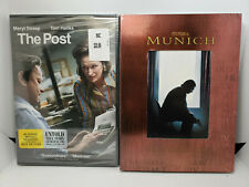 The Post (Dvd, New) + Munich (Dvd, Like-New) Steven Spielberg