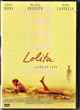 LOLITA de Adrian Lyne con Jeremy Irons. Tarifa plana en envío dvd España, 5 €
