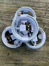 5 Pack 3FT FOR  IPHONE OEM Original CHARGER CORD USB Charger Cable 6S 7 8 XS XR