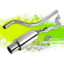 "95-05 CHEVY CAVALIER 2.2L STAINLESS STEEL CATBACK EXHAUST SYSTEM 4"" MUFFLER TIP"