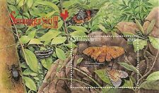 2007 Malaysia Insects Series 3 emperor moth butterfly diffraction foil MS MNH