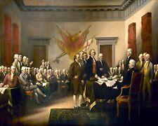 Trumbull John Declaration Of Independence Print 11 x 14