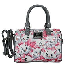 Disney Marie Aristocats Classic Print Pebble Crossbody Satchel Bag by Loungefly