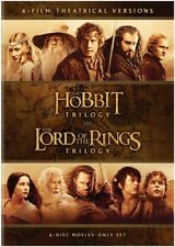 The Hobbit Trilogy / The Lord of the Rings Trilogy: 6-Film Theatrical
