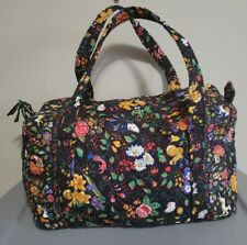 Vera Bradley Tavern On The Green Vintage  Shoulder Bag Duffel Travel Bag Medium