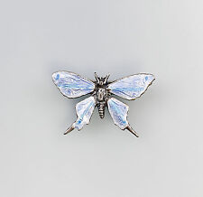 emaillierte Brosche Schmetterling 9901285