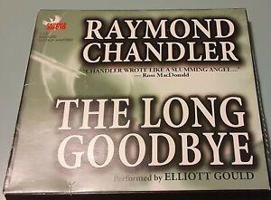 The Long Goodbye, Raymond Chandler, Audio CD, Abridged (Elliott Gould)