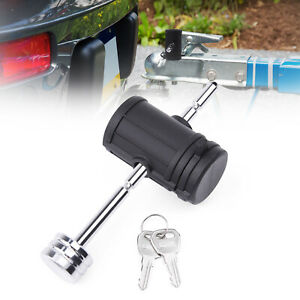 "MICTUNING Adjustable Trailer Coupler Pin Lock Tongue Lock 3"" effective length"