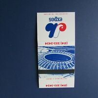 MONTREAL EXPOS  1977  OLYMPIC STADIUM  schedule  Matchbook cover   RARE