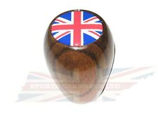 New Wood Gear Shift Knob for Triumph TR4 TR250 TR6 and Spitfire With Union Jack