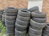 Scrap Tyres Free Collection Can Deliver Recycling Upcycling Planters Bangers GYM
