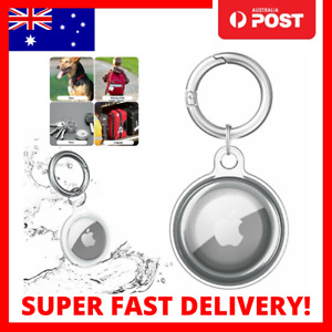 For Apple Air Tag Clear Case Cover Keychain AirTag Location Tracker Sleeve Shell