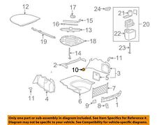 Rear-Cargo Net Retainer Chevrolet Corvette 05 - 17 GM OEM 22600404 BN19