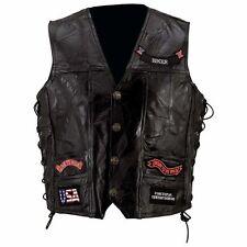 Men's Leather Waistcoats