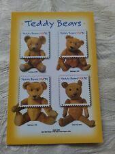 Vintage Teddy Bear Postcard Gund 2001 Usps