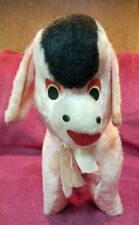 VINTAGE SUPERIOR TOY & NOVELTY PINK PLUSH BURROW MADE IN KOREA