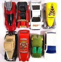 Mixed Lot of 8 Diecast Cars, Vans - Hot Wheels, Tomica, Corgi Juniors, ERTL Co.