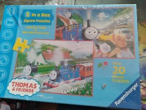 Ravensburger Thomas the Tank Engine and Friends 20 Piece Puzzle 10.3 x 7. NEW