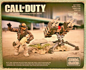 MEGA BLOKS Call of Duty SAM TURRET DCL02 Complete with instructions and box