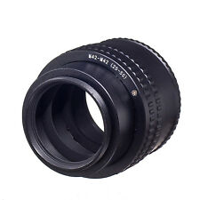 M42 to M42 25mm-55mm Adjustable Focusing Helicoid Adapter Macro Tube M42-M42
