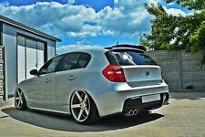 Dachspoiler Ansatz Heckspoiler für BMW 1er e87 e81 Spoiler Dachkantenspoiler ABS
