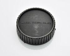 Genuine Minolta Black Rear Lens Cap SR/MC/MD Rokkor (#3345)