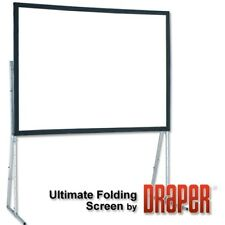 "Draper 90"" Diagonal Ultimate Folding Portable Flexible Matt White 4:3"