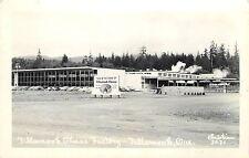RPPC Postcard Tillamook Cheese Factory OR Christian 3031