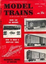 model trains Model Railroading Made Easy magazine Fall 1957 Good Cond