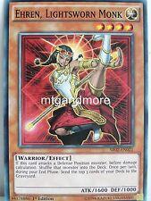 Yu-Gi-Oh - 2x Ehren, Lightsworn Monk - SR02 - Structure Deck Rise of the True