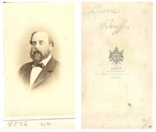 A. Ken, Le comte de Chambord Henri d'Artois  CDV vintage albumen carte de v