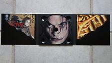 The Crow-City of Angels PROMO-CD dans a Bi-Fold Package numérique W. 2 Comic-Livrets PRCD