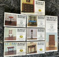 Xacto House of Miniatures Dollhouse Kits with Rare Highboy and other Htf