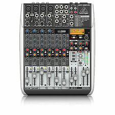 Behringer XENYX Qx1204usb 12 Input 8-channel USB Mixer With Effects
